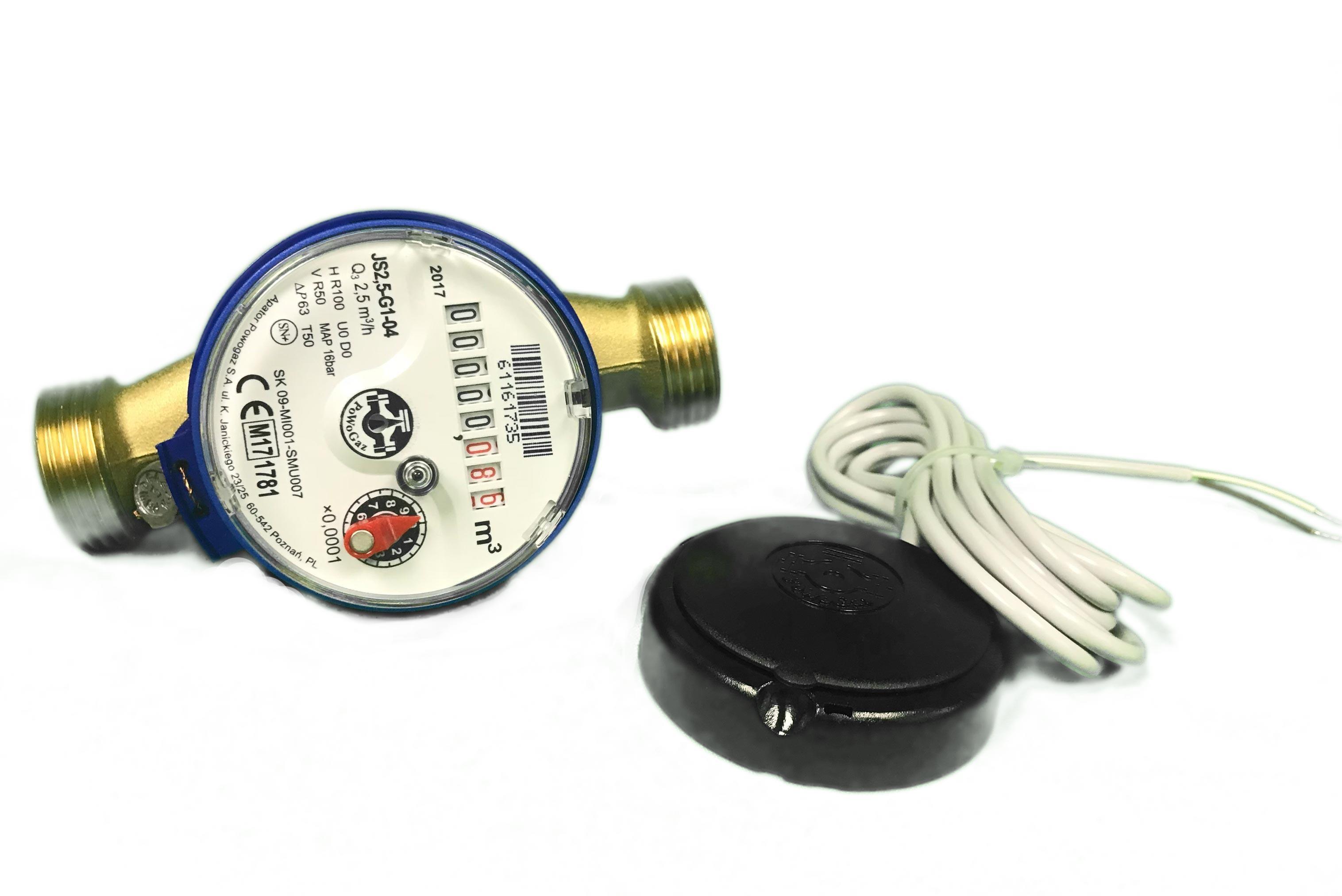 PoWogaz JS Cold Water Meter - 15-20mm