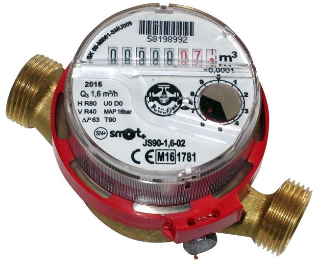 PoWogaz JS Hot Water Meter